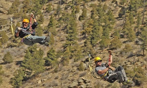 Colorado Adventure Center: $595 for a Kids' Zipline Party with Lunch and Cake for Up to 14 at Colorado Adventure Center ($1,406 Value)