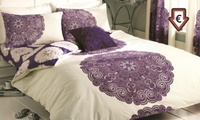 Reversible Floral Manhattan Duvet Set in Choice of Colour from €17.99 (Up to 60% Off)