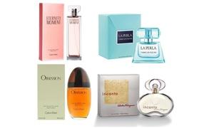 Eaux de parfum ou de toilette pour femme différentes marques 100 ml