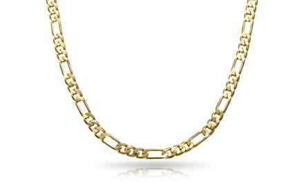 14K Gold Unisex Figaro Chain ($149.99–$199.99)