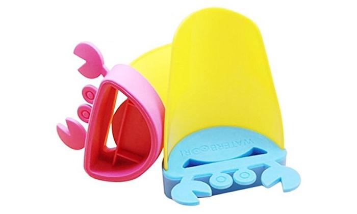 accessoires de salle de bain pour enfants groupon. Black Bedroom Furniture Sets. Home Design Ideas