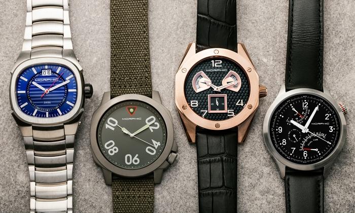 Morphic M41, M42, M43, or M44 Series Men's Watch