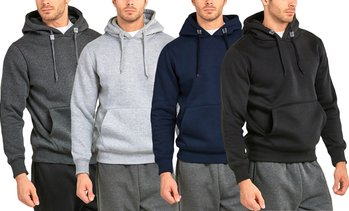 Men's Premium Soft-Touch Hooded Sweatshirt