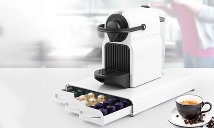 Soporte para cafetera con 3 cajones portacápsulas Kitchencook