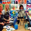 Up to 46% Off Two-Hour Painting Class at Wine & Design