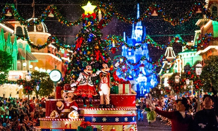 ✈ Enchanted Christmas at Disneyland:: 24 Nights at a Choice of Hotels with Disneyland Tickets and Flights*