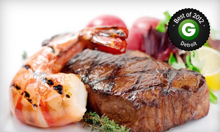 Savannah's - Trenton: $20 for $40 Worth of Upscale Fare and Drinks at Savannah's in Trenton