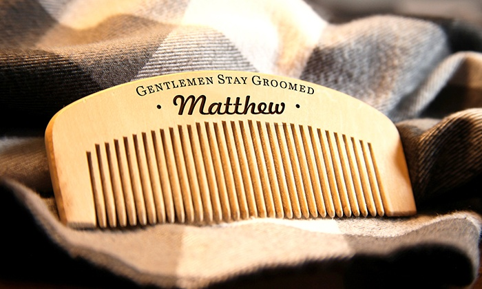Up To 55 Off Personalized Beard Combs