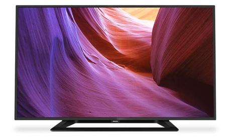 Televisor Philips 40PFH4100/88 LED Full HD de 40'' por 389 € (17% de descuento) con envío gratuito
