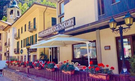 Aosta: camera doppia con colazione o mezza pensione per 2 persone a 54€euro