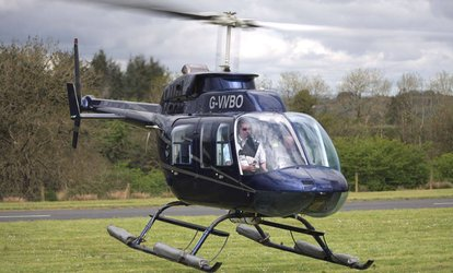 10km, 20km, 45km or 75km Helicopter Themed Flight with Adventure 001, Five Locations