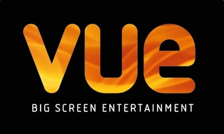 groupon.co.uk - Vue: Two or Five Cinema Tickets, Available in 90 Locations Nationwide (No Booking Fees)