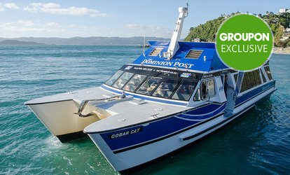 Days Bay Trip: 1 Child ($7) or 2 Adults + Matiu Somes Island Stopover ($38) with East By West Ferries (Up to $68 Value)