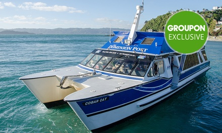 From $7 for Return Trip Ticket to Days Bay, Somes Island or Seatoun with East By West Ferries (From $12 Value)