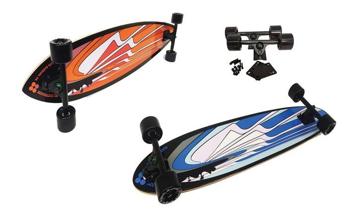 Black Angel Longboard Complete and Completer Packages