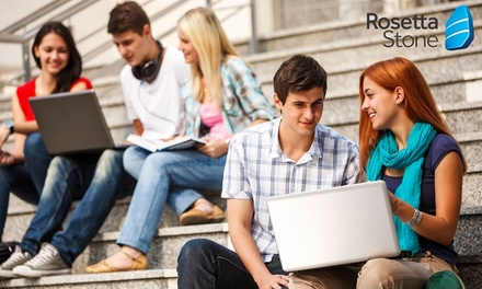 Up to Two Years or Lifetime Access to Language Course at Rosetta Stone (Up to 52% Off*)