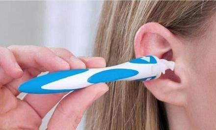 1 o 2 limpiadores de oídos removedores de cera con 16 cabezales de repuesto