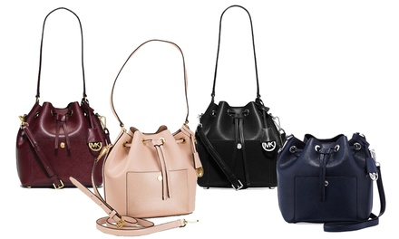 $299 for a Michael Kors Greenwich Bucket Bag (worth $399). 4 Colours