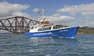 Forth Boat Tours: Boat Trip on Firth of Forth for Two or Four with Forth Boat Tours (Up to 43% Off)