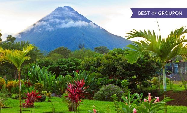 TripAlertz wants you to check out ✈ 6-Day Costa Rica Vacation w/Air from Gate 1 Travel. Price per Person Based on Double Occupancy (Buy 1 Groupon/Adult). ✈ 6-Day Costa Rica Vacation with Airfare  - Costa Rica Vacation with Air