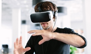 Up to 42% Off Virtual Reality Experience at GameOn VR Lounge at GameOn VR Lounge, plus 6.0% Cash Back from Ebates.