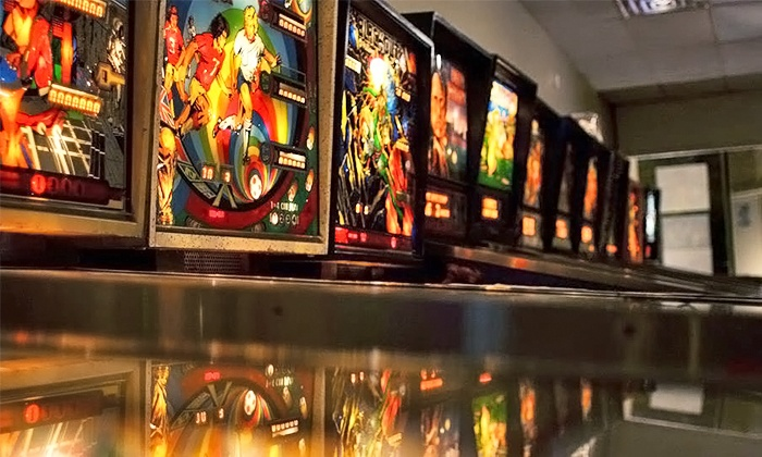 Chicago Street Pinball Arcade - Joliet: All-You-Can-Play Wristbands for Two or Four at Chicago Street Pinball Arcade (Up to 40% Off)