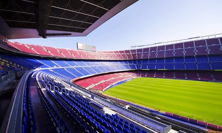 FC Barcelona Games: Match Tickets and 1 or 2 Nights in FourStar Hotel for Two*