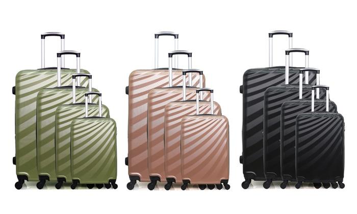 Four Danube-M Suitcases