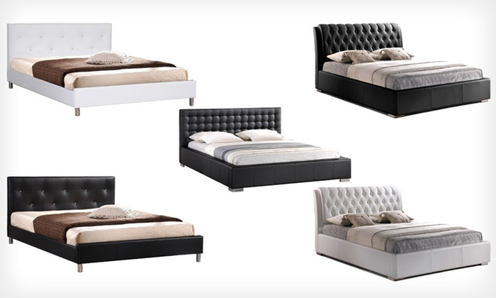 Baxton Studio Bed and Headboard Sets: Baxton Studio Bed Frame and Headboard Sets (Up to 51% Off). Multiple Styles Available. Free Shipping and Free Returns.