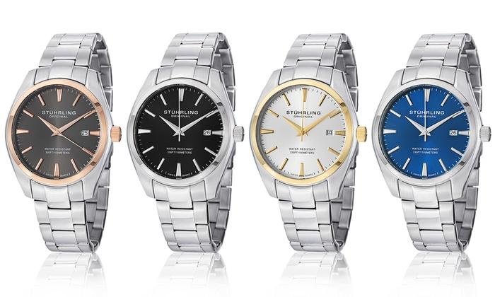 Stuhrling Men's Swiss Classic Bracelet Watch: Stuhrling Men's Swiss Classic Bracelet Watch