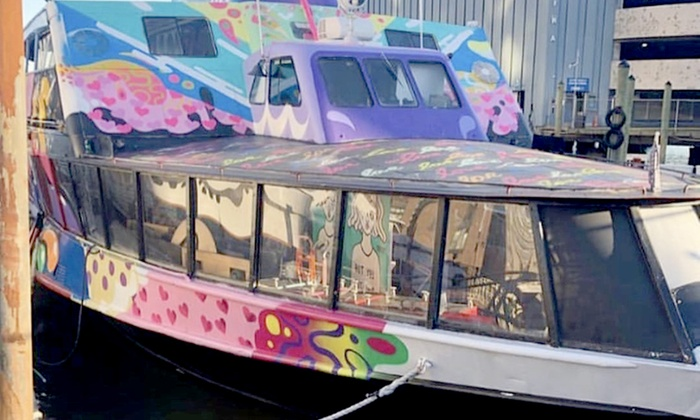 Up to 45% Off NYC Art Yacht Party of Game tight New York