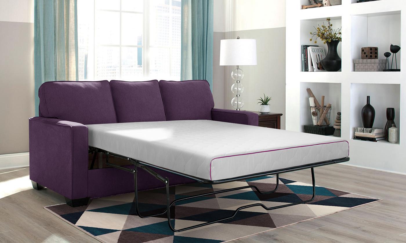 Matelas pour canapés lit convertibles à mémoire de forme et gel frais de la marque Sampur