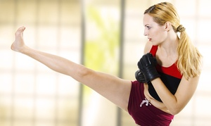 Rondeau's Kickboxing: 5 or 10 Drop-In Fitness Classes with T-Shirt at Rondeau's Kickboxing (Up to 75% Off)