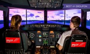 iPilot (Zentrale): 30, 60 oder 90 Min. Flight Experience in A320 Passenger Jet in Hamburg bei iPilot (bis zu 54% sparen*)