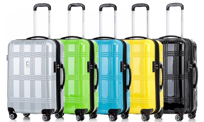 Champs 3-Piece Hard-Sided Spinner Luggage Sets | Groupon