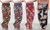 Lilly Posh Floral Flare Pants - Plus Sizes Available