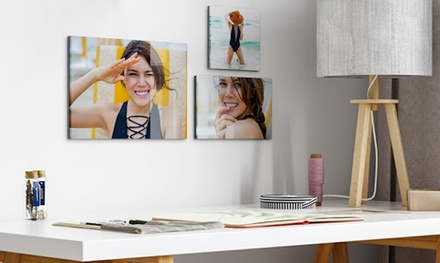 Up to 120cm x 80cm Acrylic and Aluminium Personalised Panel from Photo Gifts (Up to 77% Off)