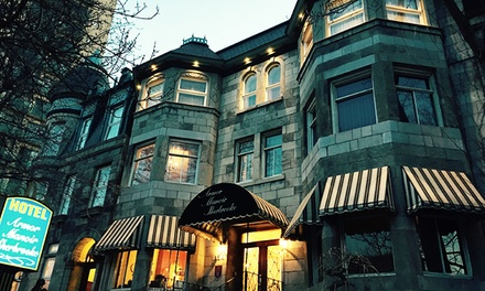 Stay at Hotel Manoir Sherbrooke in Montreal, QC, with Dates into June