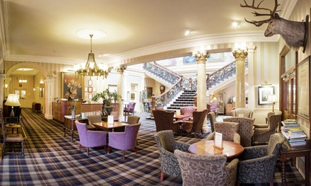 Inverness: 1 to 3 Nights for Two with Breakfast and Option for Dinner and Wine at The Royal Highland Hotel