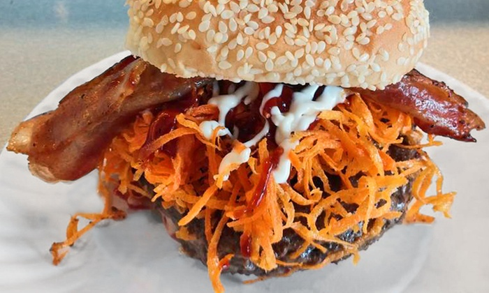 Johnny's Burgers - Centereach: Burgers at Johnny's Burgers (Up to 40% Off)