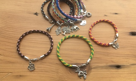 $10 for Jewelry Making Class - Kumihimo Bracelet Weaving — House of Metalworks