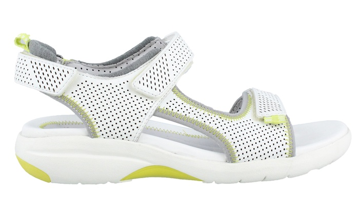 on feet shots of great fit limited style Up To 41% Off on Clarks Women's Athletic Sandals | Groupon Goods