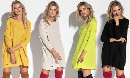 Womens Oversized Jumper Dress