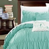 Francine Pleats and Ruffles Bed-in-a-Bag Comforter Set (11-Piece)