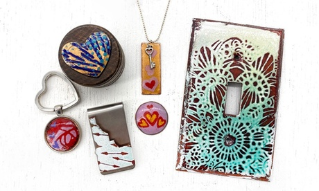 Introduction to Enameling Class for One or Two at FireFusion Studio (Up to 45% Off)