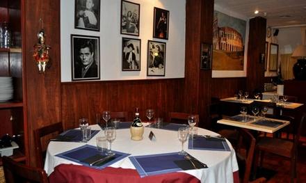 Menú italiano para 2 o 4 con entrante, principal, postre y bebida desde 22,99 € en Sapor D'Italia