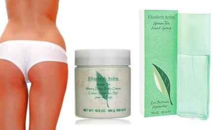 Fragranza da donna Eau Parfumèe da 30 ml o crema per il corpo da 500 ml Elizabeth Arden