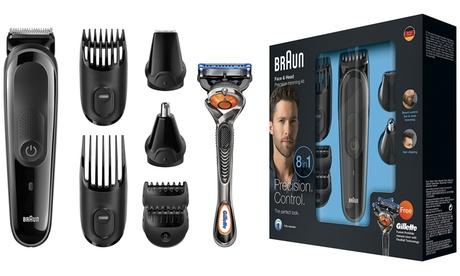 Set de afeitado 8 en 1 Braun MGK3060