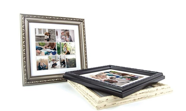 Personalised Mothers Day Framed Collage Canvas: Regular ($12) or Large ($19.99) (Dont Pay up to $157.59)