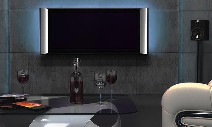led tv hintergrundbeleuchtung groupon goods. Black Bedroom Furniture Sets. Home Design Ideas